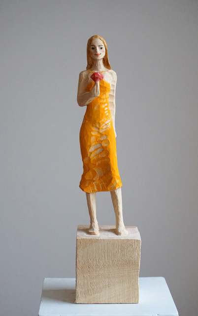 , 'Yellow Dress,' 2018, Alan Kluckow Fine Art