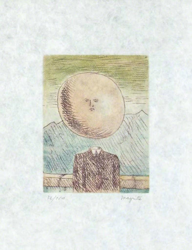 René Magritte L Art De Vivre 1968 Available For Sale