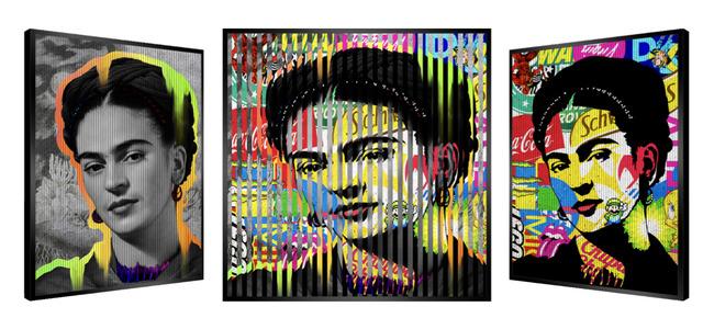 Patrick Rubinstein, 'People & Brand - Frida Kahlo', GFA1034, Gefen Fine Art