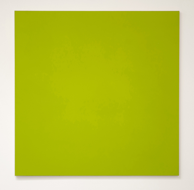 , 'Untitled (Lime),' 2016, Christopher Grimes Gallery