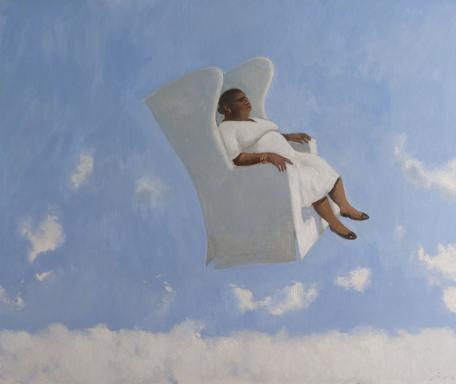 , ' Above the Clouds 2015 Oil on Canvas ,' 2015, Contini Art Gallery