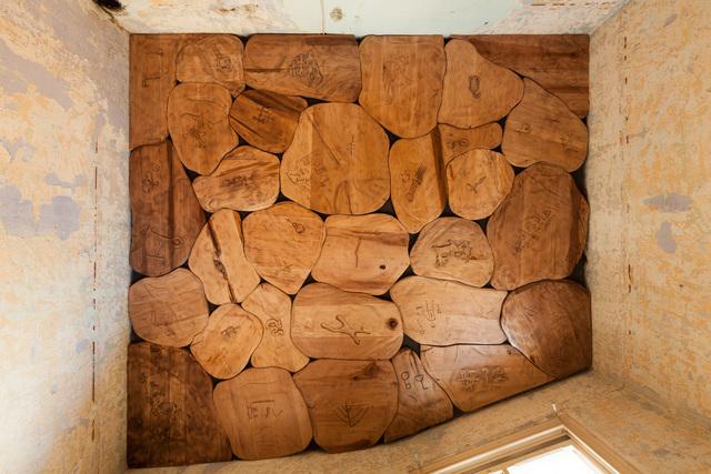 , 'Stone (Manuscripts Don't Burn),' 2015, Istanbul Biennial