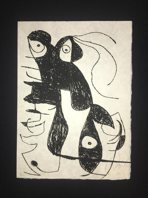 Joan Miró, 'Inscribe', 1975, Baterbys