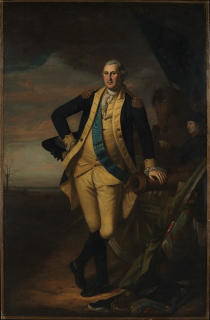 Charles Willson Peale, 'George Washington', ca. 1779–1781, The Metropolitan Museum of Art