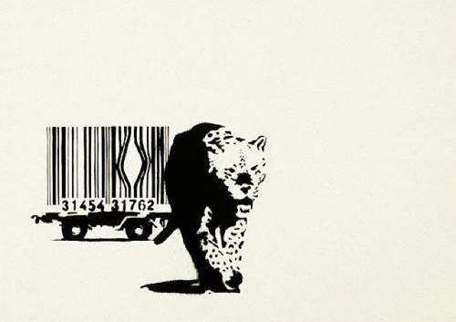 Banksy, 'Bar Code', 2004, Robin Rile Fine Art