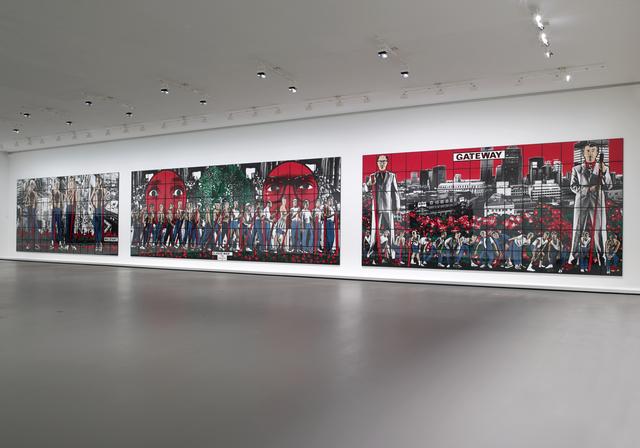 , 'Militant, Class War, Gateway,' 1986, Fondation Louis Vuitton