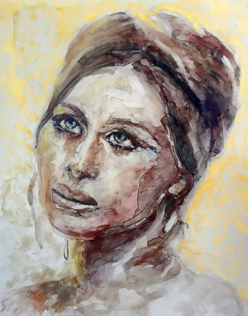 ", '""Doubt can motivate you, so don't be afraid of it. Confidence and doubt are at two ends of the scale, and you need both. They balance each other out."" -- Barbra Streisand,' 2017, Ro2 Art"
