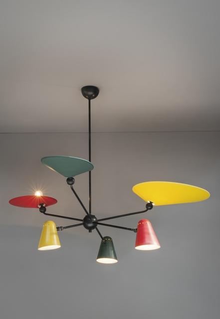 , 'Ceiling light,' ca. 1955, Galerie Pascal Cuisinier