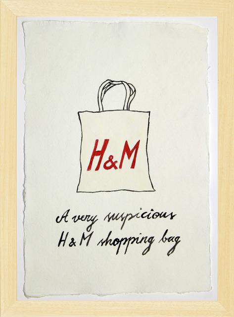 , 'Suspicious Bags: H&M Shopping Bag,' 2018, Temnikova & Kasela