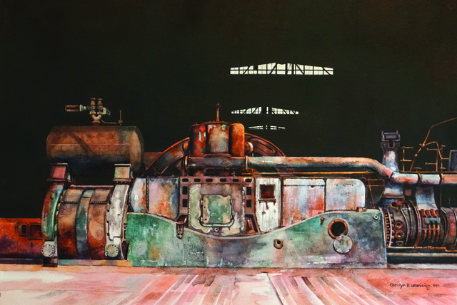 , 'Powered Down, Bethlehem Steel,' , Copley Society of Art