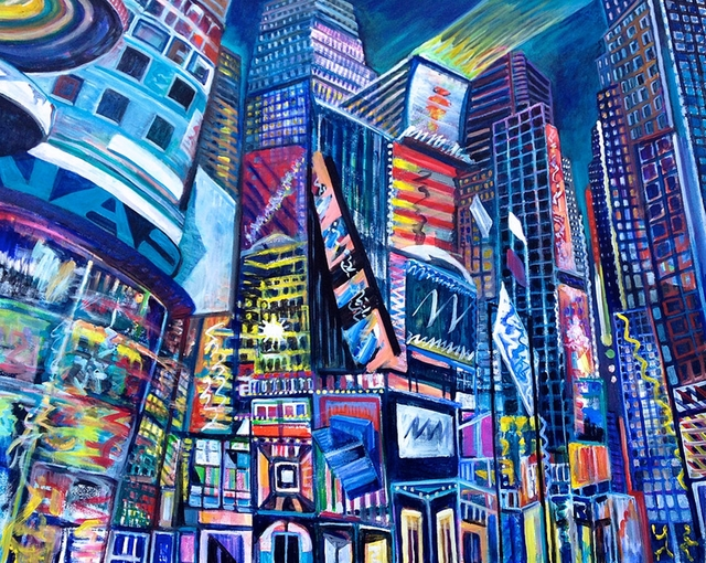 , 'TIMES SQUARE IV,' 2015, Alpha 137 Gallery