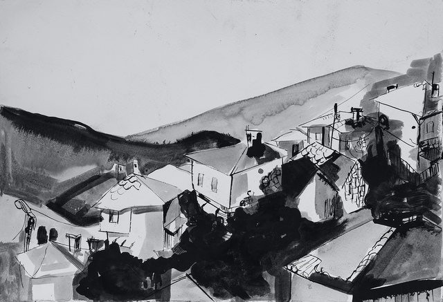 , 'Landscape with Houses,' 2016, ArtWizard