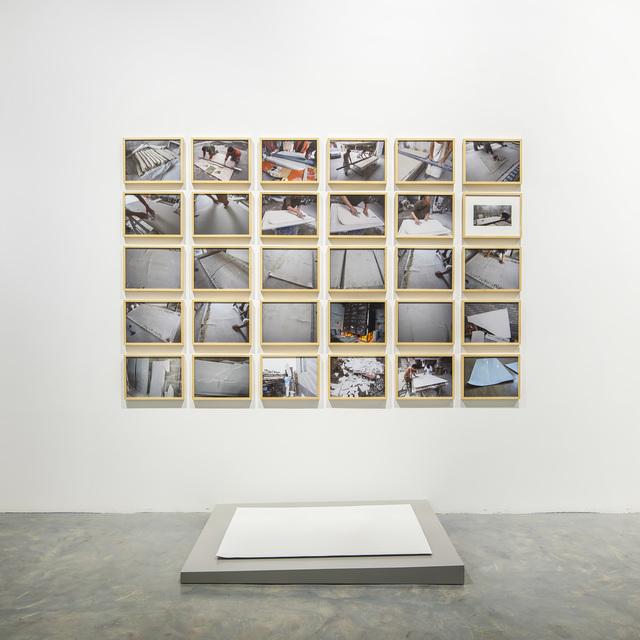 , '白纸 Blank Paper ,' 2012-2016, Qiao Space