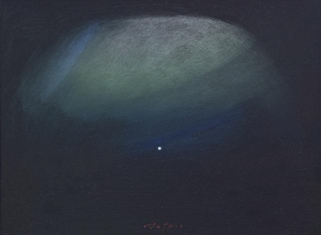 John Axton, 'Talking to the Moon', 2018, Painting, Oil, Ventana Fine Art