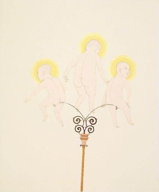 Wilson Shieh, 'Three Angels', 2005, Crown Point Press