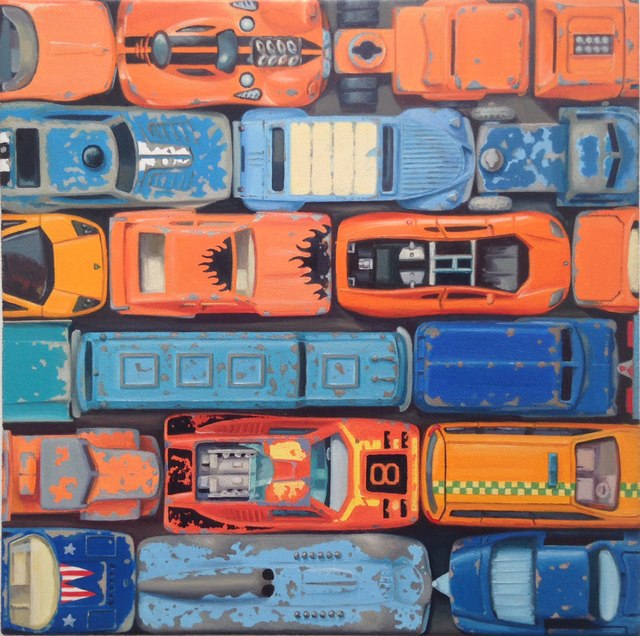 , 'Gridlock (Complimentaries),' 2016, Anthony Meier Fine Arts