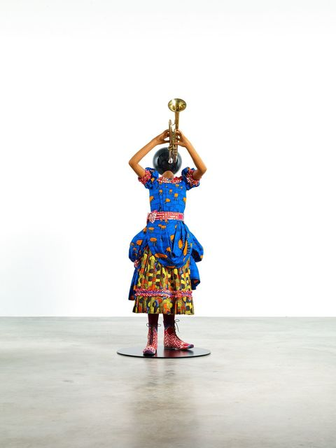 Yinka Shonibare CBE, 'Planets in My Head (Trumpet Girl)', 2018, James Cohan