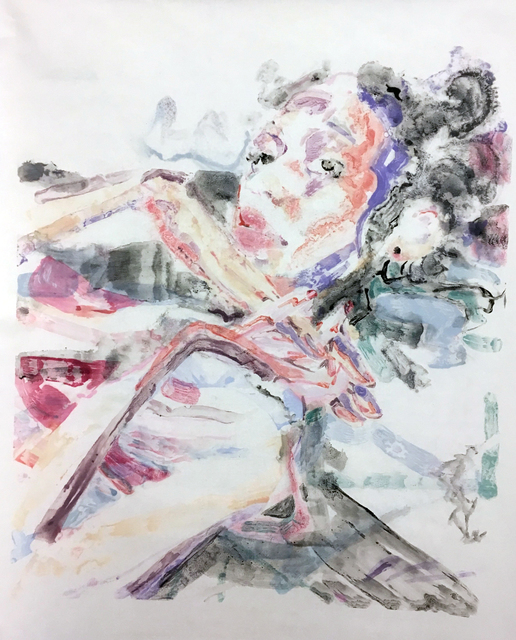 , 'V,' 2017, Catharine Clark Gallery