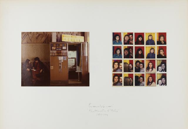 Franco Vaccari, 'Photomatic d'Italia', 1973-1974, P420