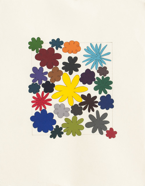 Polly Apfelbaum, 'Just Flowers', 2004, Durham Press, Inc.