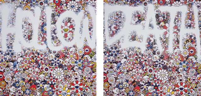 Takashi Murakami, 'Flower HOLLOW; and DEATH Flower', 2015, Phillips