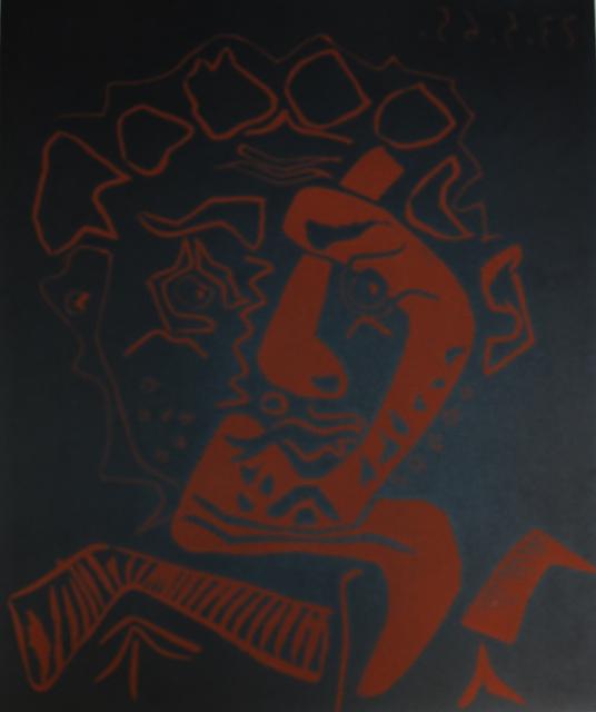 Pablo Picasso, 'Head Actor - The Dancer (Tete D'Histrion- Le Danseur)', 1965, Baterbys