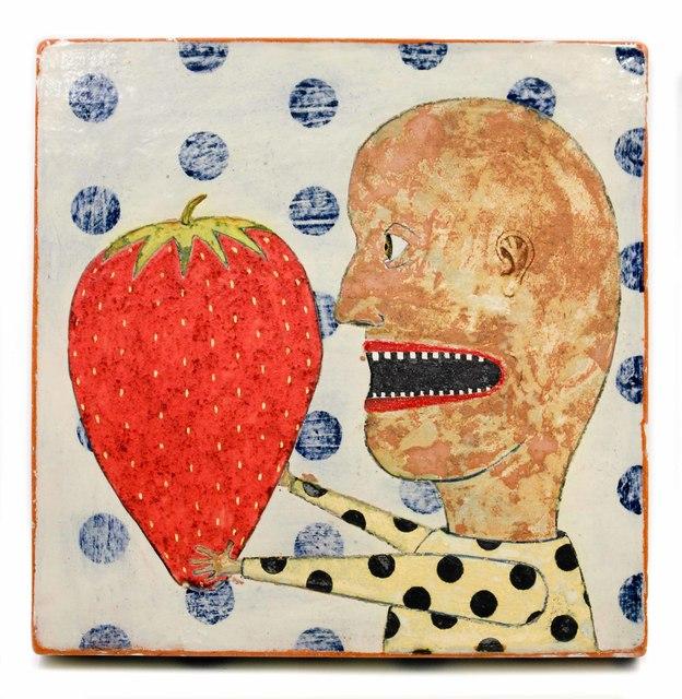 , 'Big Strawberry ,' , form & concept