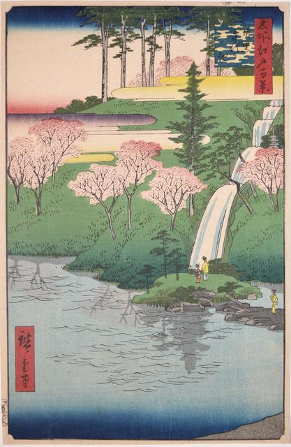 , 'Chiyogaike, Meguro,' 1856, Ronin Gallery