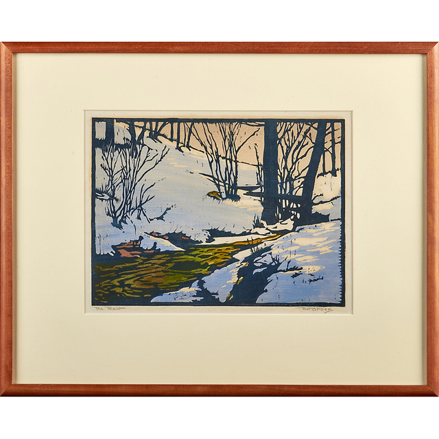 "William S. Rice, '""The Thaw,"" California', ca. 1920, Rago/Wright"