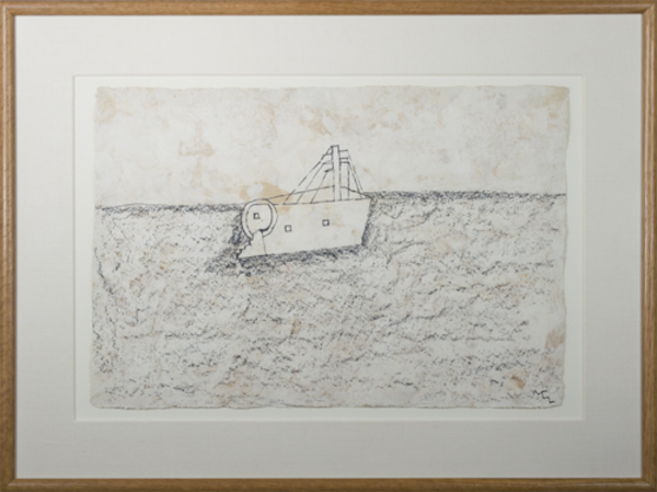 , 'Fishing Boat ,' 1991, David Barnett Gallery