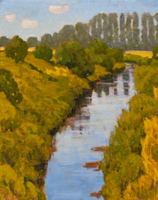 Barry F. McCuan, 'Near Grove Ferry, Kent', 2015, Ventana Fine Art