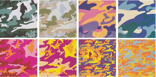 Andy Warhol, 'Camouflage Complete Portfolio (FS II.406-413)', 1987, Print, Screenprint on Lenox Museum Board, Revolver Gallery