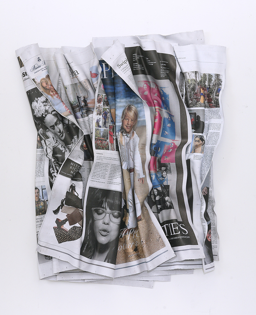 , 'New York Times Thursday Styles 5-10-15,' 2016, Galerie de Bellefeuille