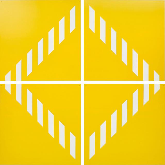 Daniel Buren, 'PVC giallo − Quatre éléments. travail situé', 2003, Phillips
