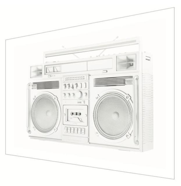 , 'White Trapezoid Boombox - Version .001 (Left),' 2019, Art Angels