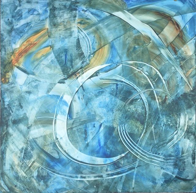 , 'Tai Chi Circling Hands Aquarelle,' 2020, SHIM Art Network