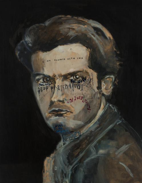 , 'I am always with you ,' 2017, Galerie Heike Strelow