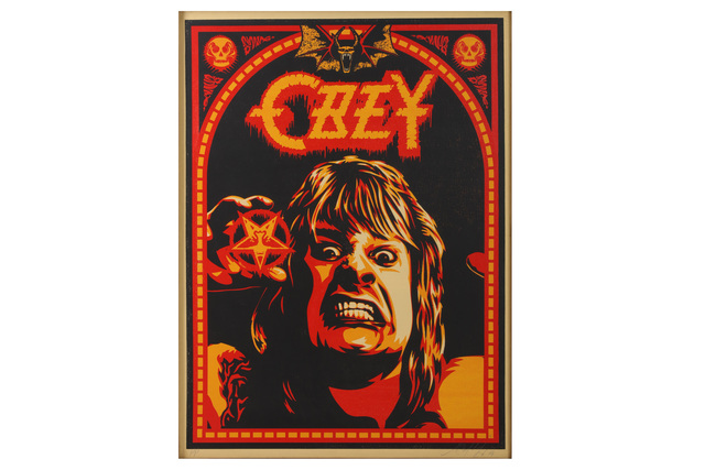 Shepard Fairey, 'Ozzy', Chiswick Auctions