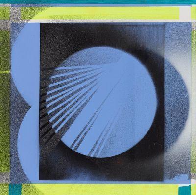Nola Zirin, 'Blue Eclipse', 2017, OTA Contemporary