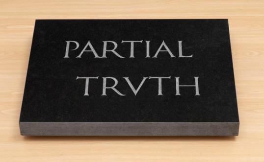 """BRUCE NAUMAN """"Partial Truth"""", 1997"""