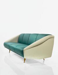 "Gio Ponti, '""Diamond"" Sofa from the Residence of Lisa Ponti, Milan, Italy,' circa 1953, Sotheby's: Important Design"