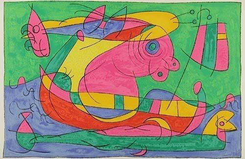 Joan Miró, 'XIII. Ubu Roi: Le Voyage de Retour', 1966, Contessa Gallery