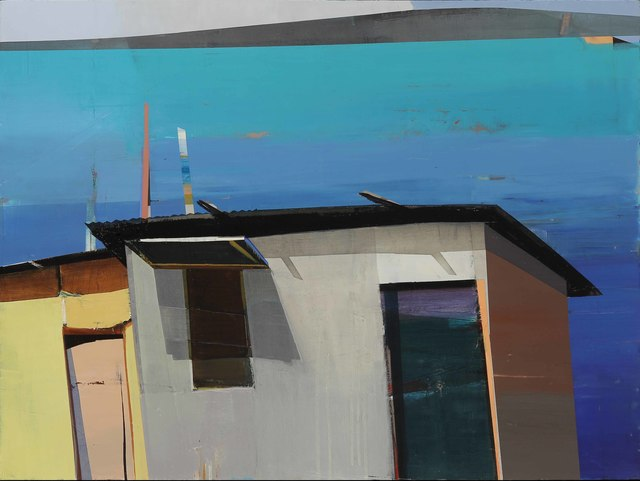 , 'Yellow Hut by the Water,' 2017, Caldwell Snyder Gallery