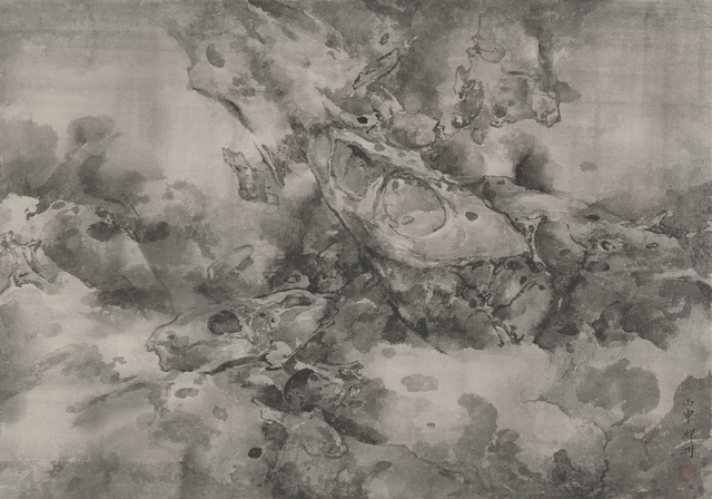 , 'Rocks Expunged by Rushing Springs 奔泉抉石,' 2016, Ink Studio