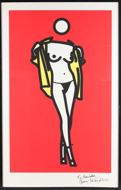 Julian Opie, 'Woman Taking Off Mans Shirt. 5', 2003, Chiswick Auctions