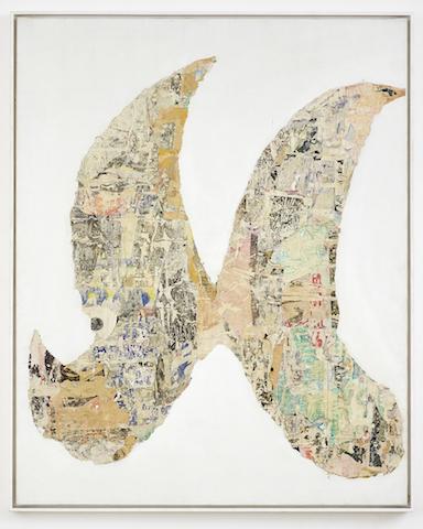 , 'Mot Nu Mental (detail),' 1964, GALERIE GEORGES-PHILIPPE ET NATHALIE VALLOIS