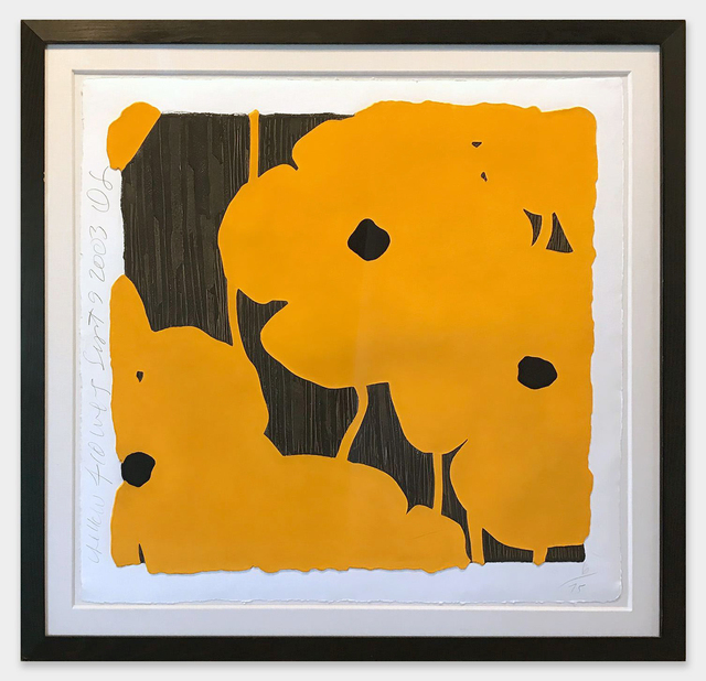 ", '""Yellow Flowers"",' 2003, Scott White Contemporary Art"