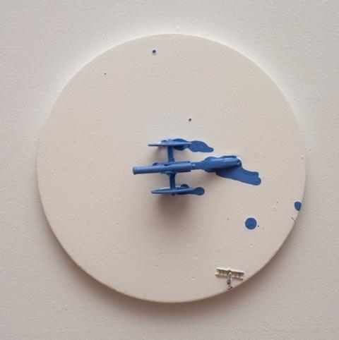 , 'To paint Blue,' 2015, Espacio Mínimo