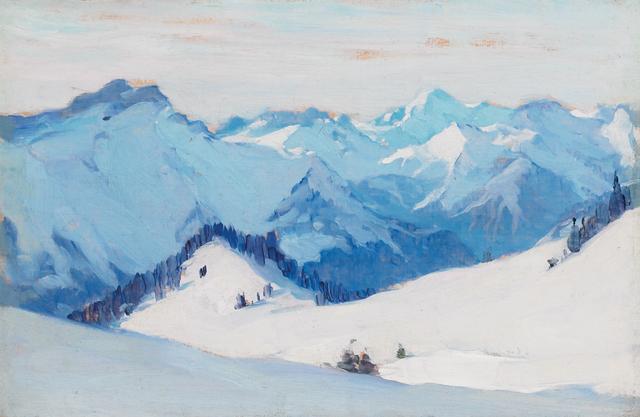 , 'Villars Suisse,' 1911, Oeno Gallery