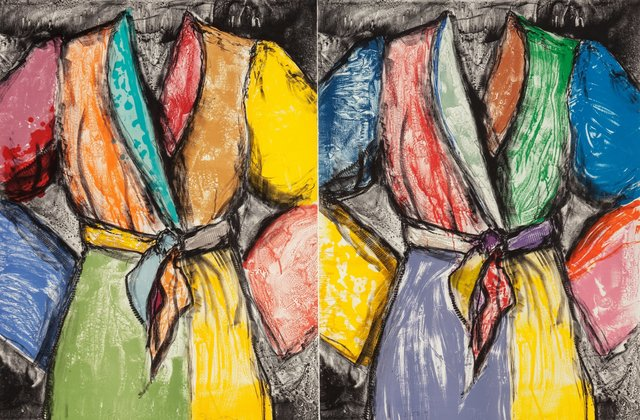 Jim Dine, 'Double Dose of Color', 2009, Heritage Auctions